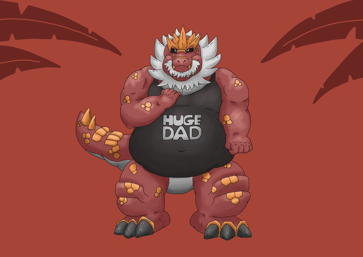 Stomps The Massive Dino On Twitter Pokedad 697 Tyrantrum