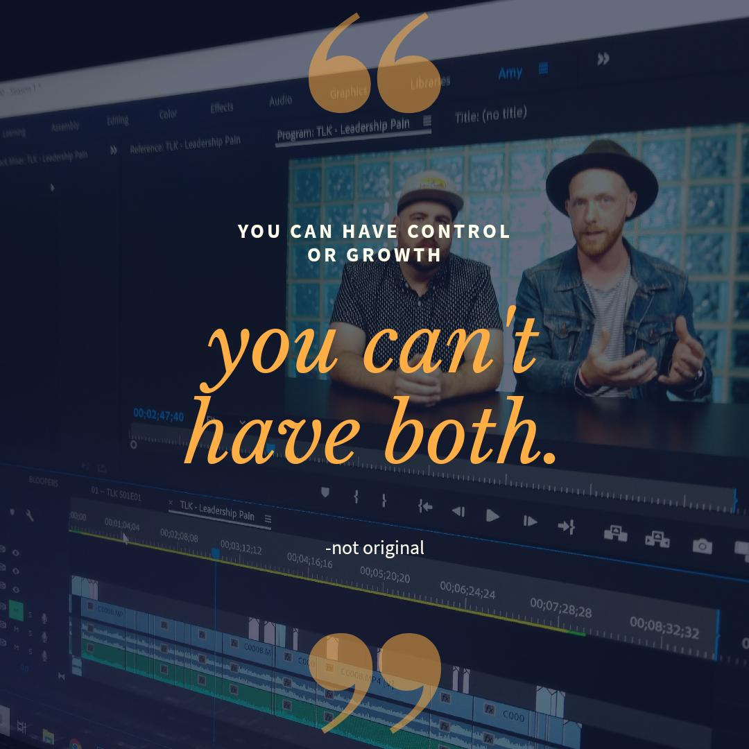 We're editing our video for this Monday. Can't wait to share with you guys and see your comments. Be a pal and let us know what we can talk about in the next few weeks. • • • • #leadership #leaders #LeadershipDevelopment #leaderscreateleaders #pain #growth #selfimprovement