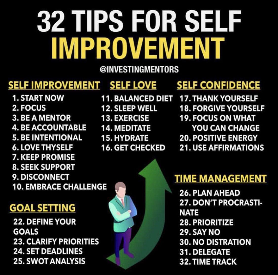 #SelfImprovement