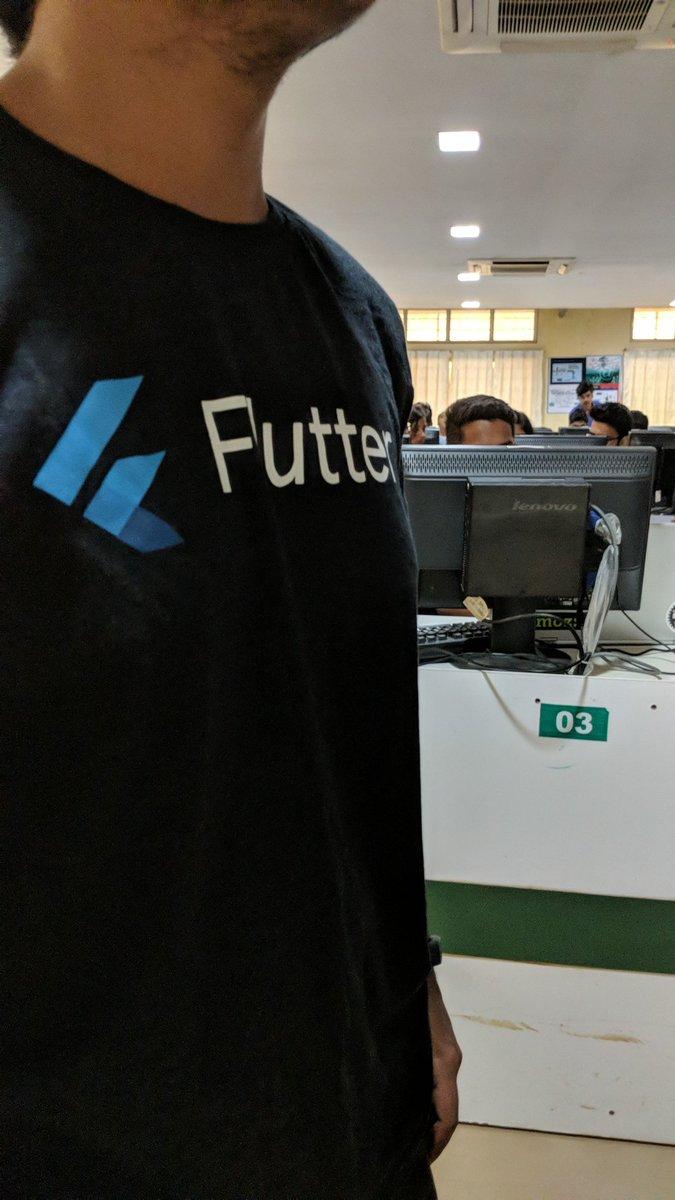 flutterworkshop hashtag on Twitter