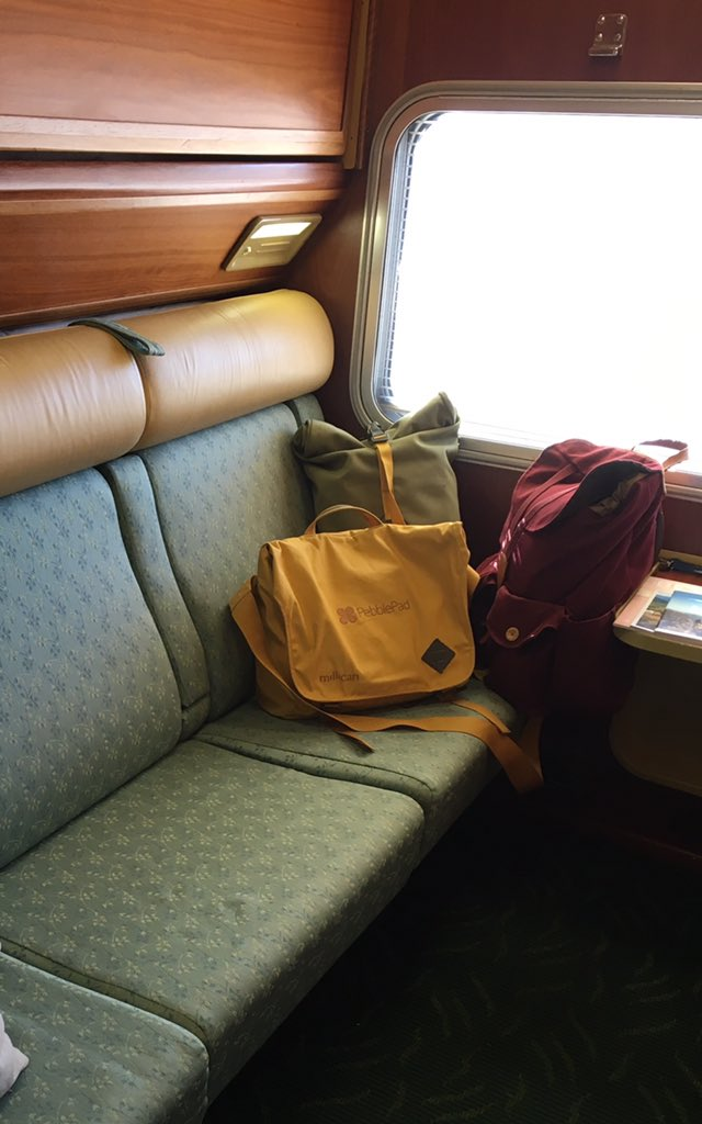 This very lucky #paddler is spending the next two days travelling by #IndianPacific train to Adelaide https://t.co/7t5zVuXhN4