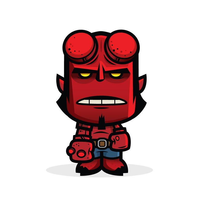 One more for Hell Boy Day! #Hellboy #MikeMignola @DarkHorseComics #HellboyDay