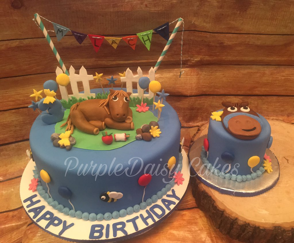Alicia On Twitter Horse Themed 8 Cake And 4 Matching Theme For Birthday Boy Marble Cake Purpledaisycakes Cakedecorating Cakedesign Birthdaycake Horsecake Horsetheme Fondantcake Wiltonfondant Wilton Https T Co Krmnnfuqen