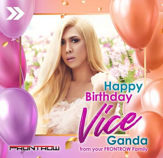 Happy Birthday to our Unkabogable Phenomenal Box-Office Star and  We love you, VICE GANDA!