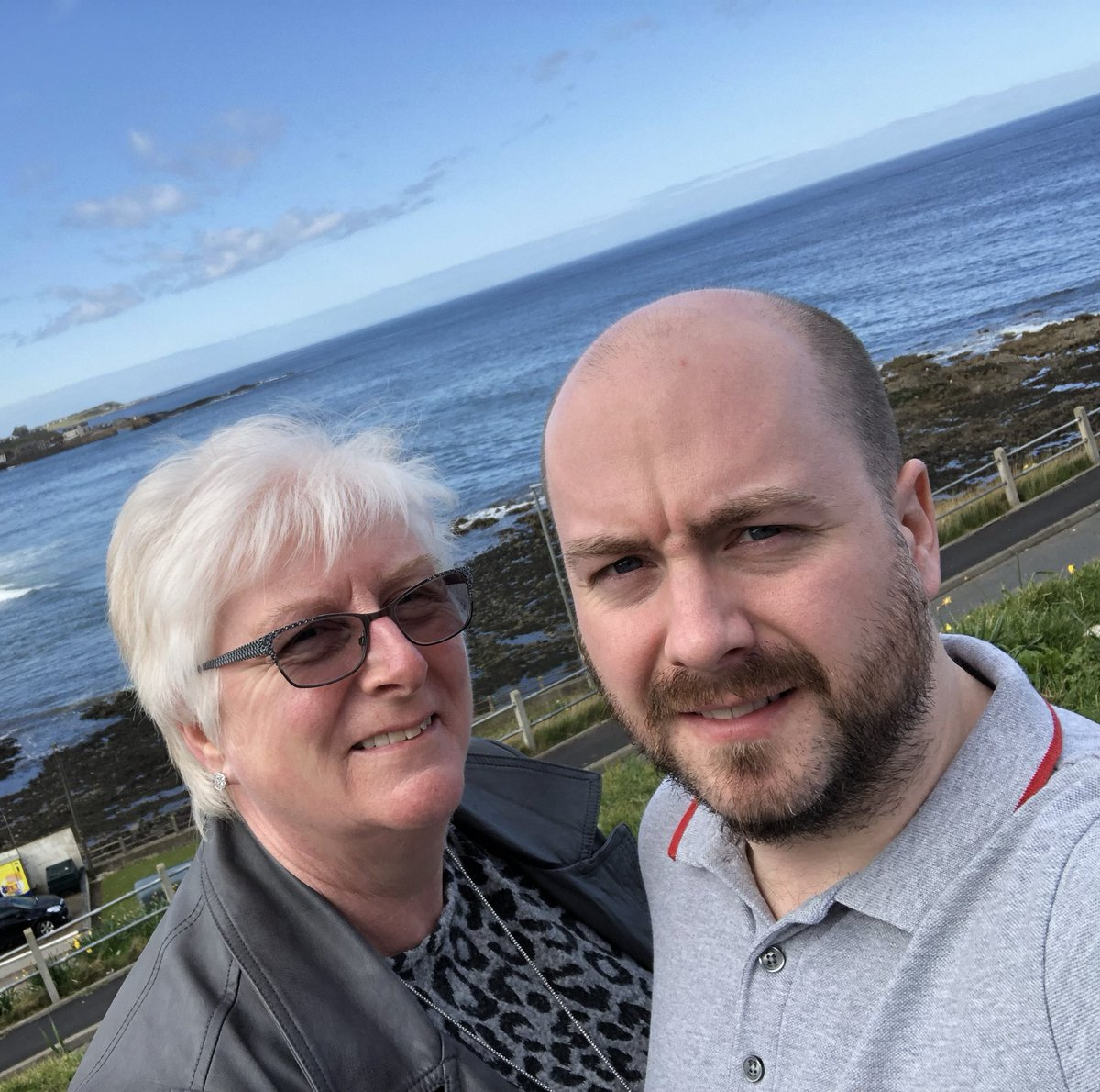 Happy Mother's Day Mamma T! Had a lovely afternoon tea at Annie's Cakery in Macduff - high recommenced!