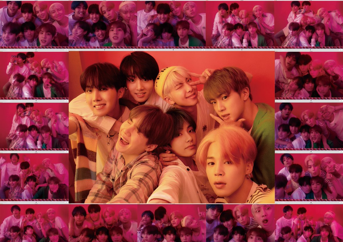 "BTS (Bangtan Boys) >> Album ""Map of the Soul: Persona"" D2_qSAIUYAAf6Tz"