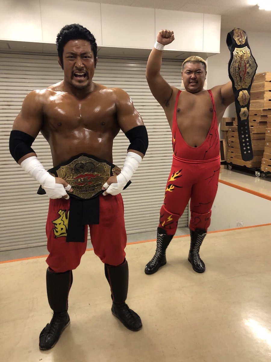 "Dragon Gate: ""Glorious Gate 2019""  Defensa del título de parejas 3"