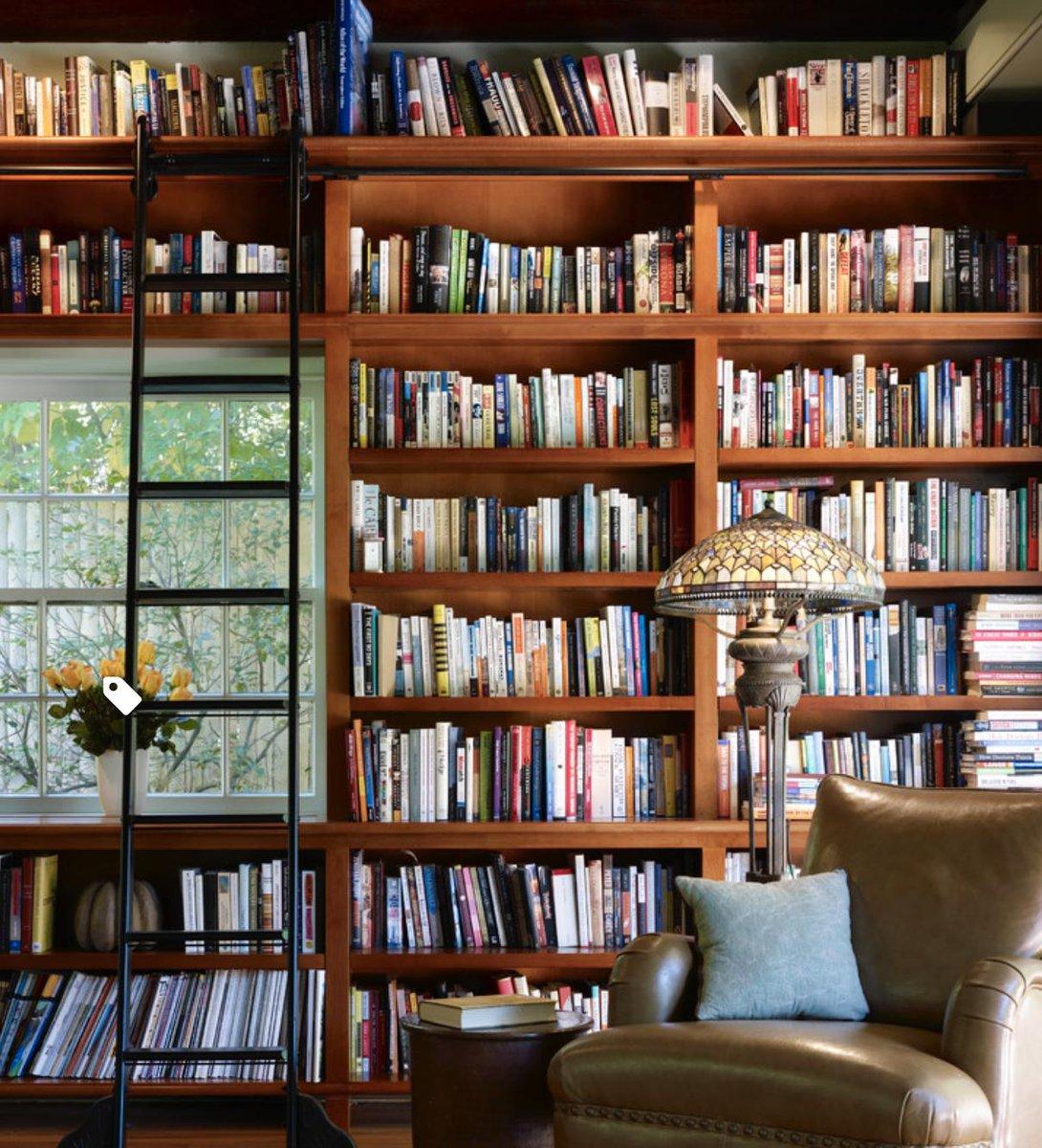 Home library perfection ... 😊💗  #art #travel #socialmedia