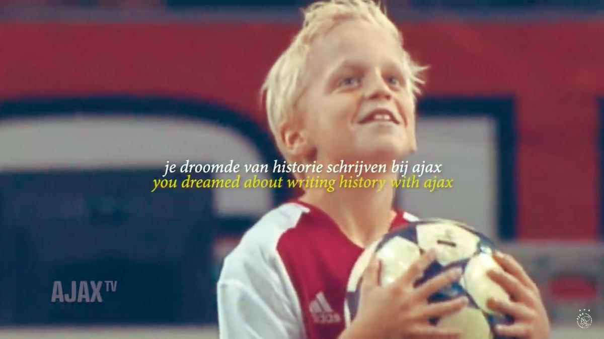 Dear @AFCAjax , betere videocontent als op dit account bestaat er niet in de voetbalwereld. #Ajax1M #ajajuv #1Misveelteweinig