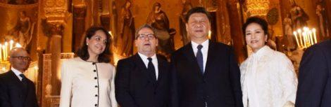Xi Jinping saluta la Sicilia, dietro lascia la battaglia dei paladini fra Miccichè e Orlando: di chi è il regalo più bello? (FOTO) - https://t.co/YFFmYLxW01 #blogsicilianotizie