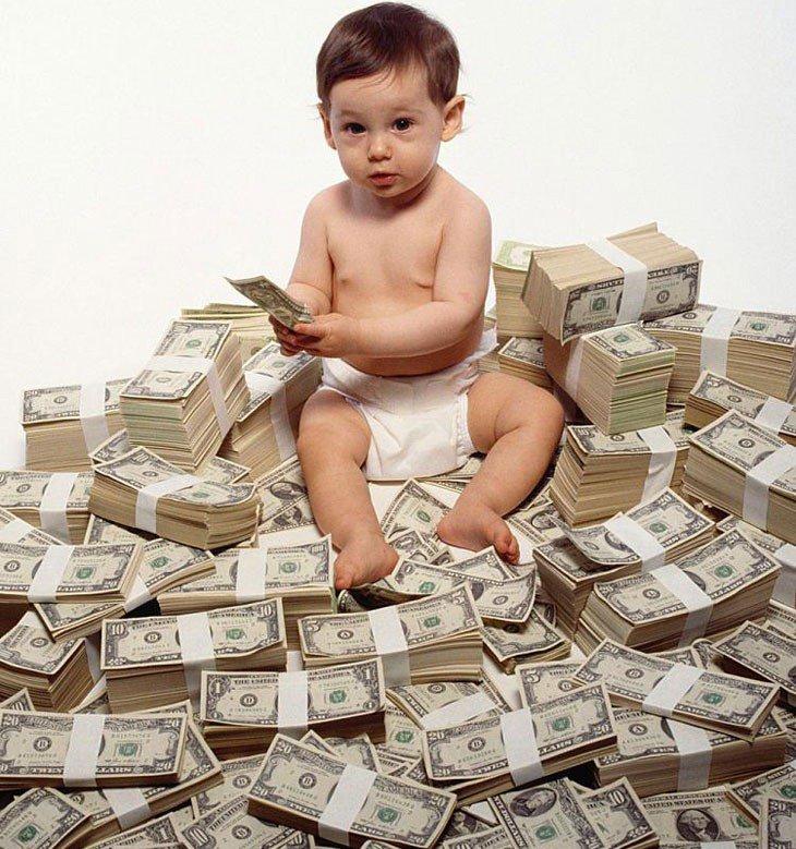 Поздравление юбилеем, картинки веселые про деньги