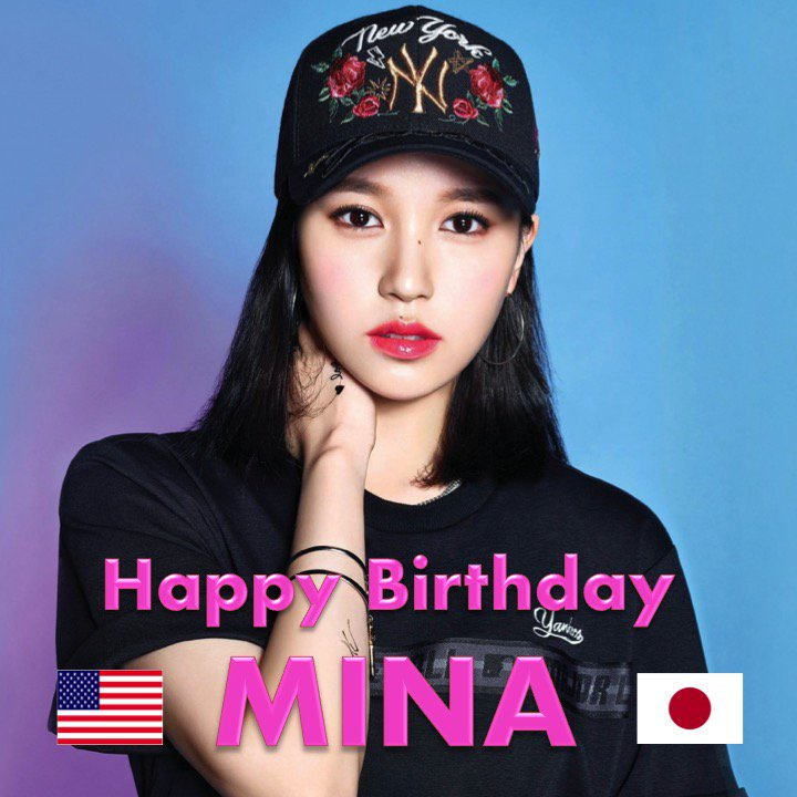 Happy Birthday to #TWICE&#39;s Mina! #HappyMinaDay! @JYPETWICE    https://www. facebook.com/worldmusicawar ds/photos/a.310614765686310/2137957859618649/?type=3&amp;theater &nbsp; … <br>http://pic.twitter.com/BJ3nyVSpox