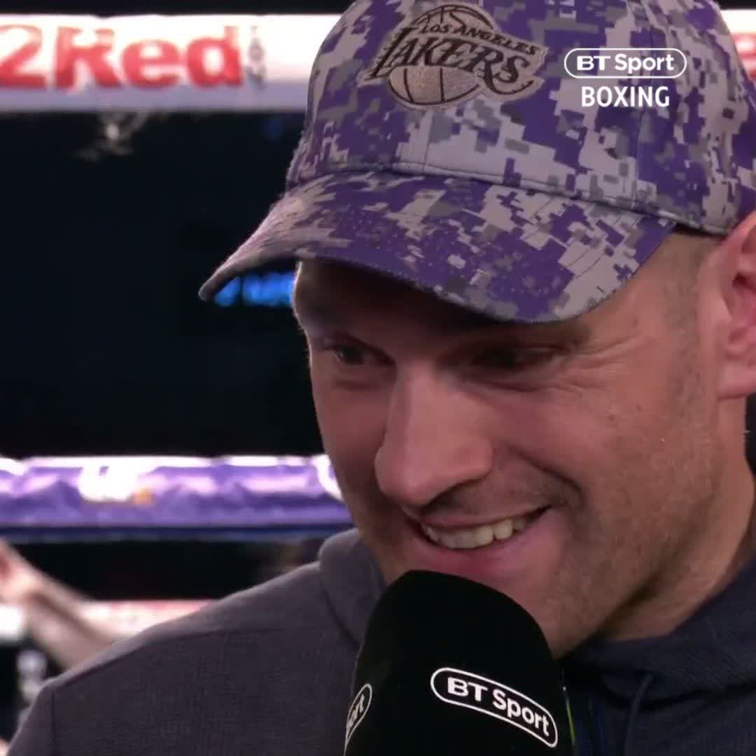"""""""Wilder's gone quiet... I send him messages and he doesn't reply anymore!"""" 🤷♂️  Tyson Fury announces his next opponent and can't wait to return to the ring 👊"""