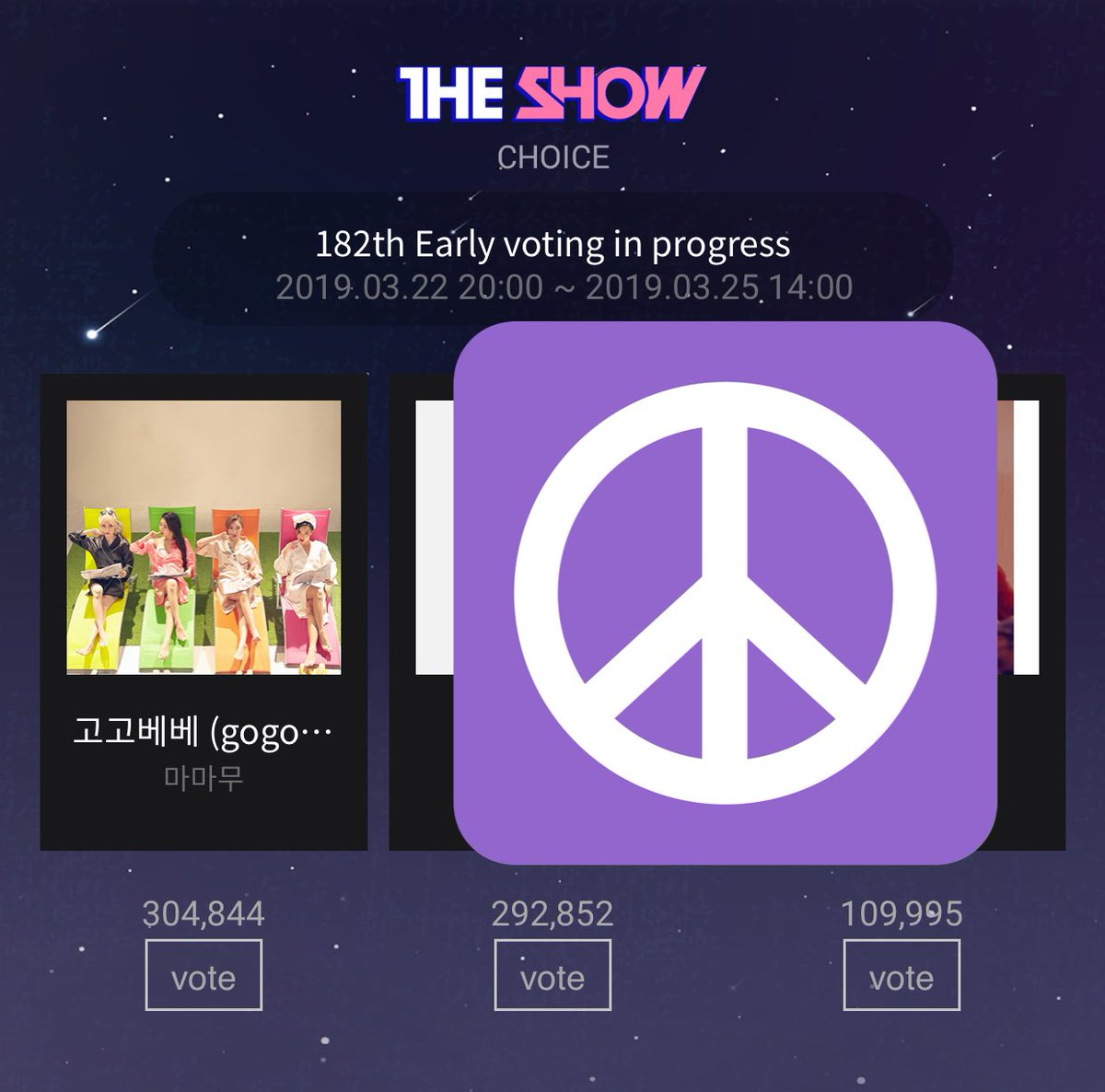 GOGOBEBE's digital is not strong. So please vote &amp; stream their MVs and music show stages  Idol Champ   http:// mbcplus.idolchamp.com/app_proxy.html ?type=vote&amp;id=vote_1098_489 &nbsp; …   MCountdown   https:// m.mwave.me/shar/app?viewT ype=N&amp;viewId=MA_MCT_01&amp;viewURL=L21jb3VudGRvd24vcHJldm90aW5nL3Jlc3VsdA==&amp;p1=&amp;p2=&amp;p3= &nbsp; …   The Show Starpass App   Streaming Playlist   https://www. youtube.com/playlist?list= PLIr8Hw285CIzmmF4j_L7TV5E-hkkAXoct &nbsp; …   @RBW_MAMAMOO #마마무 #MAMAMOO #GOGOBEBE<br>http://pic.twitter.com/QfUv2zDWKZ