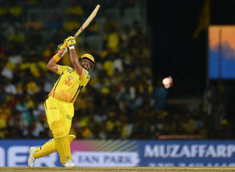 Heartiest congratulations to @imraina on becoming the 1st ever player to score 5000 runs in the @ipl!  He is a fabulous asset for any captain and his dedication towards the game is an example for all the youngsters playing the game today.   #CSKvRCB #IPL<br>http://pic.twitter.com/SllS4aQf5i