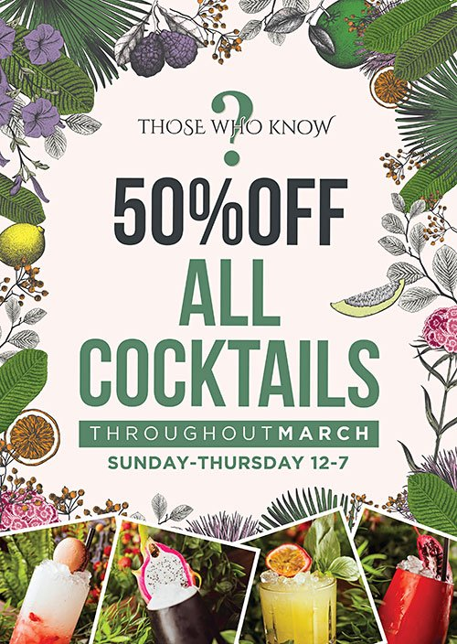 Out in Newcastle in March? Head over to Alice in Wonderland on Grey Street &amp; Get 50% OFF ALL COCKTAILS in March!!!  http:// viewit.link/cSFC/Cocktails 50%OFF &nbsp; …  <br>http://pic.twitter.com/ptlyHhwiBK
