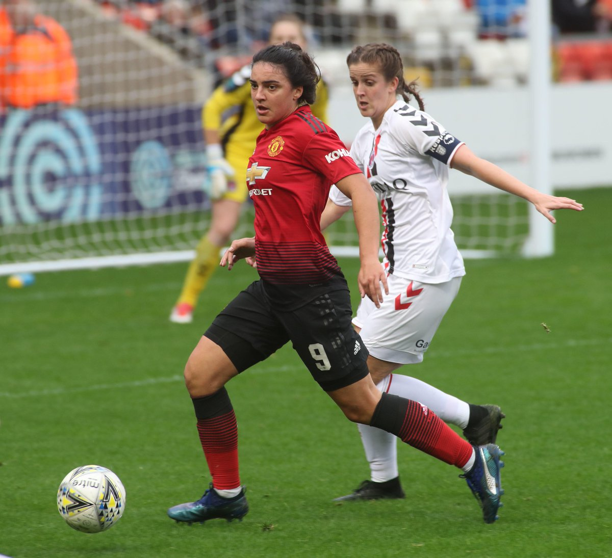 It&#39;s matchday for #MUWomen, away to Charlton at 14:00 GMT. Come on! <br>http://pic.twitter.com/E4vwuShXdG