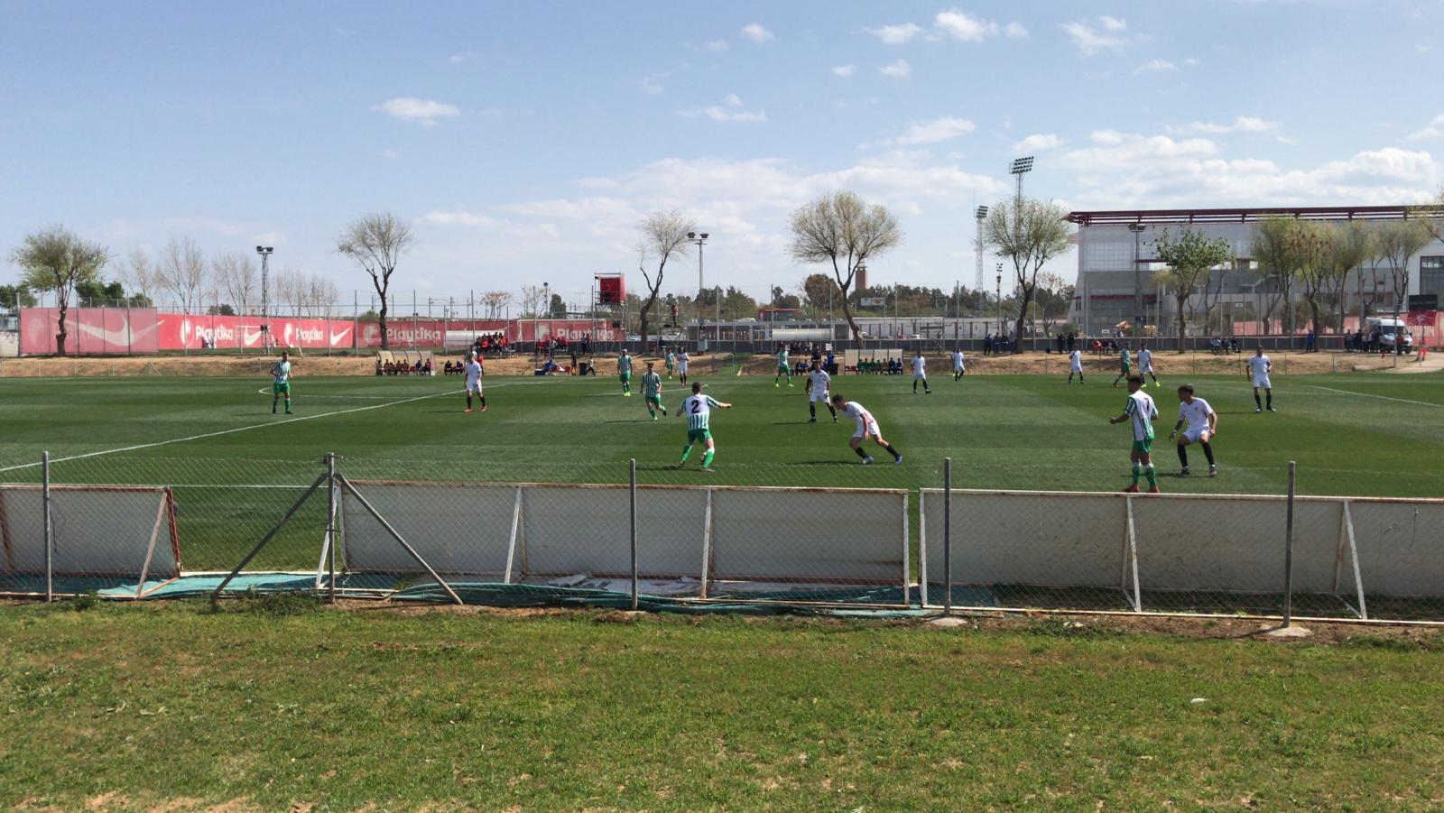 Derbi de Juveniles, Sevilla 1-0 Betis.