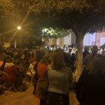Image for the Tweet beginning: Otra noche maravillosa en Santa