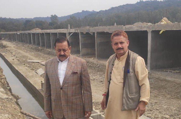 #ConstituencyUpdate: Current status of Pallan Morh bridge under construction under Central #PMGSY scheme, connecting #Kathua with #Billawar.