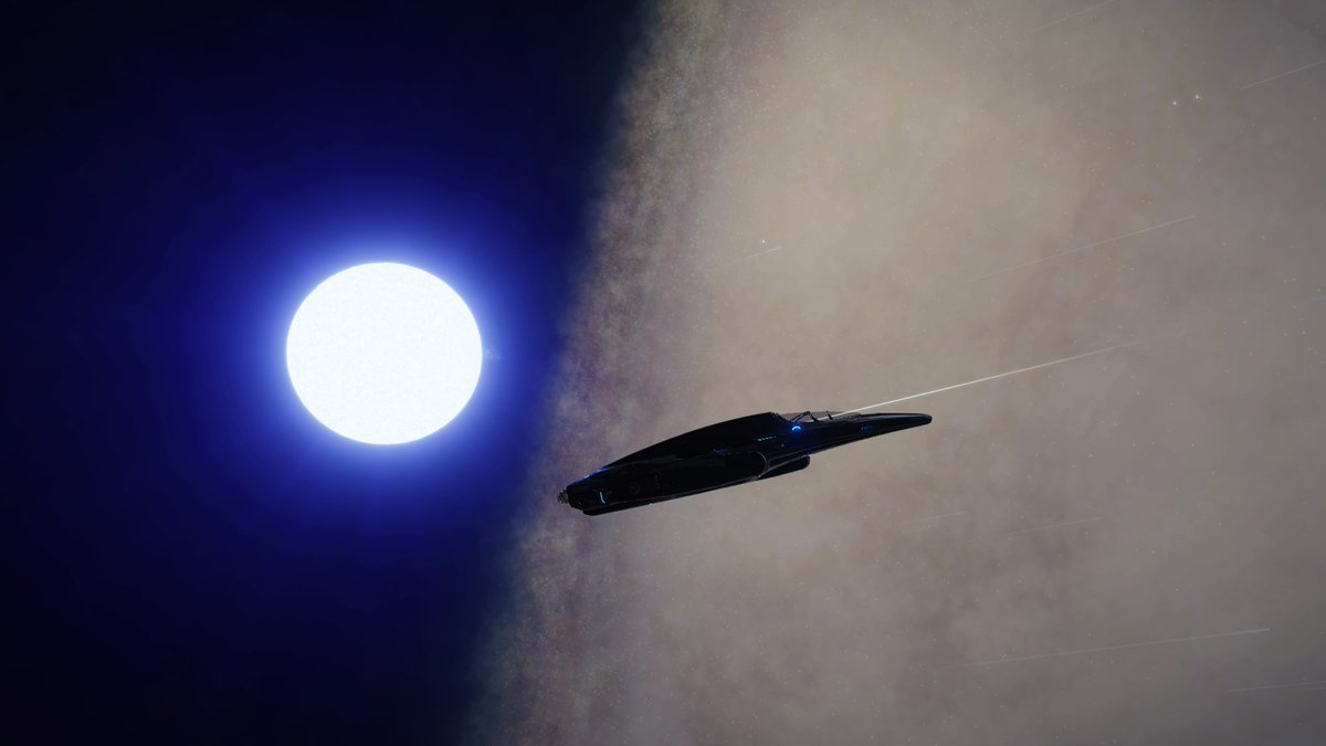 2,800ly above the plane, and looking down on... well... everything.
