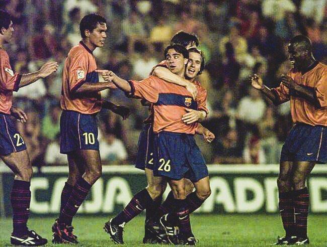 📆 21 Years Ago Today:  🇪🇸 Xavi made his @FCBarcelona debut.  🏟 769 Games ⚽️ 85 Goals 🎯 181 Assists  8 🏆🇪🇸 La Liga 8 🏆🇪🇸 Supercopa de España 3 🏆🇪🇸 Copa del Rey  4 🏆🇪🇺 Champions League 2 🏆🇪🇺 Super Cup  2 🏆🌍 Club World Cup  👑 Blaugrana Legend.
