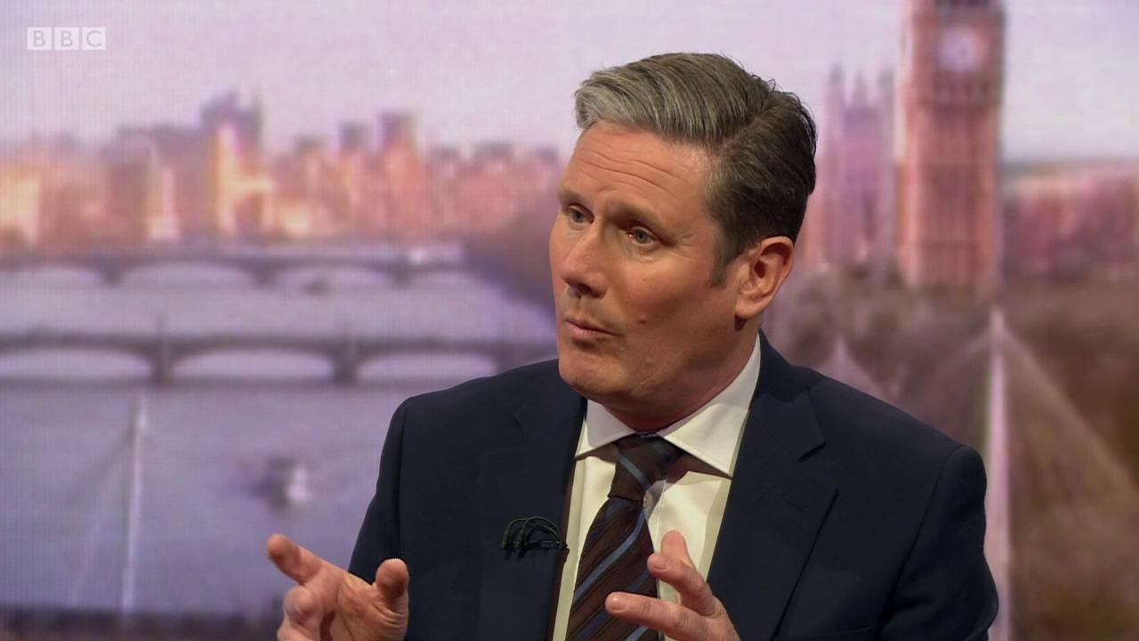 Labour would support a public vote on May's deal says Sir Keir Starmer   #Brexit #Marr https://t.co/ChFZepCHfg https://t.co/D7GWvCfkjw