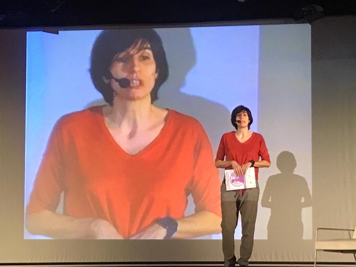 Yo de mayor quiero ser como ella! 😍 Almudena Vidal, presidenta de @coaemcoaem y representando a @AsomusicaG. Impresionante presentando la labor de Coaem en #conEuterpe19. #EducaconMúsica #Musiqueando2019 #YoConEuterpe @C_ConEuterpe