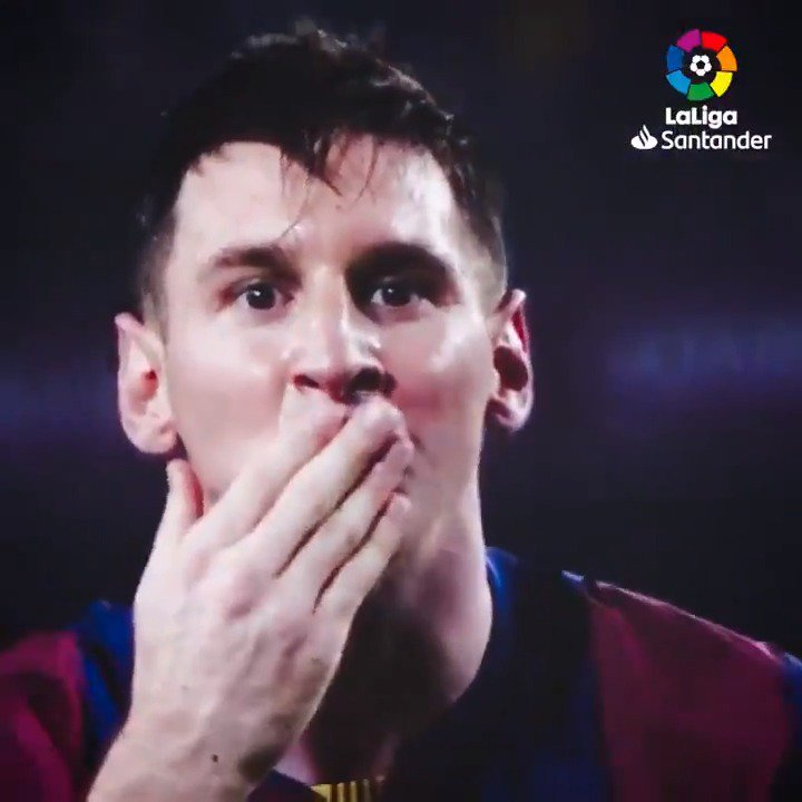 🔙 2014  Há 5 anos, Messi se tornava o maior artilheiro da #LaLiga!  E se não bastasse, marcou um hat-trick nesse jogo... 💥