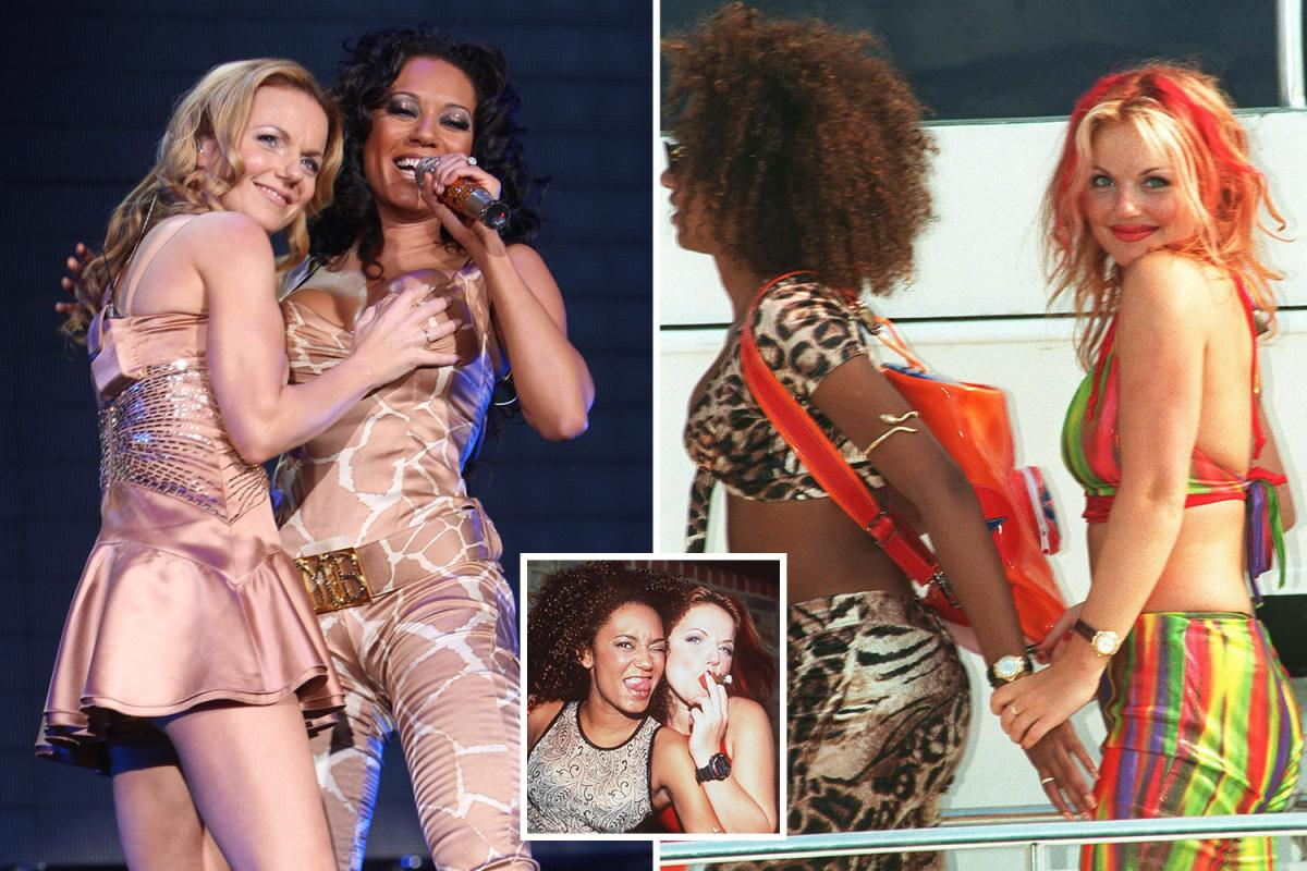 Geri Halliwell Performing Her Raunchy Lesbian Show Editorial Stock Photo