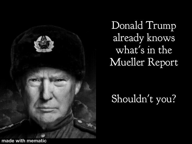 #ReleaseTheReport