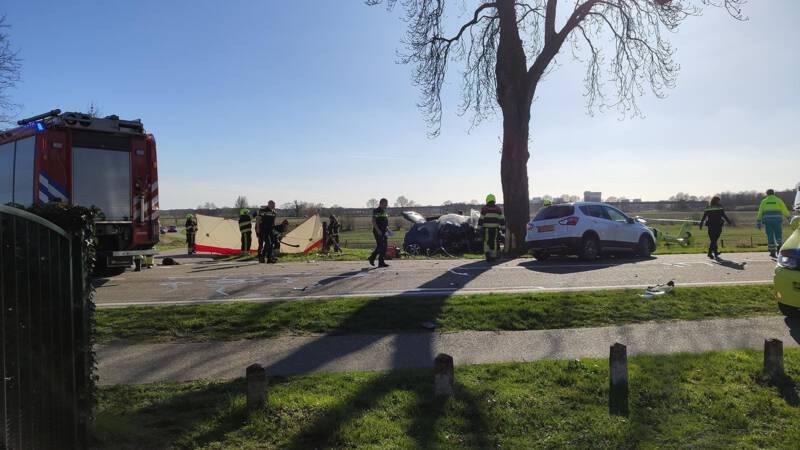 Tragiczny wypadek w Holandii. Samochód, którym jechali Polacy uderzył w drzewo