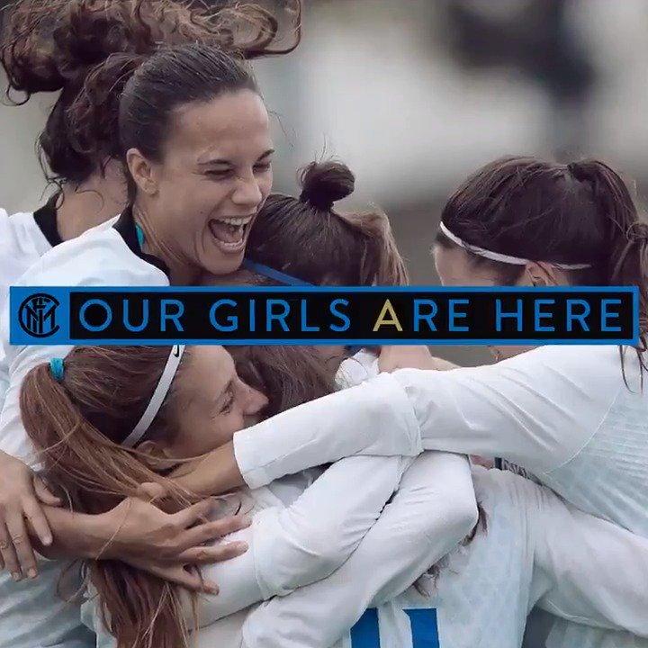 👩 | OUR GIRLS ARE HERE 🖤💙  🙌 Missione compiuta per le ragazze di @coachdelafuente! 1⃣7⃣ vittorie in 1⃣7⃣ partite!  Level 🆙 con 5 giornate d'anticipo! ⚫🔵👏  #FORZAINTER #InterWomen