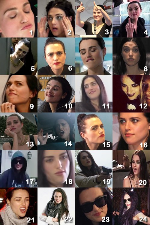 Which Katie are you today? (By lenaluthcr on Tumblr)