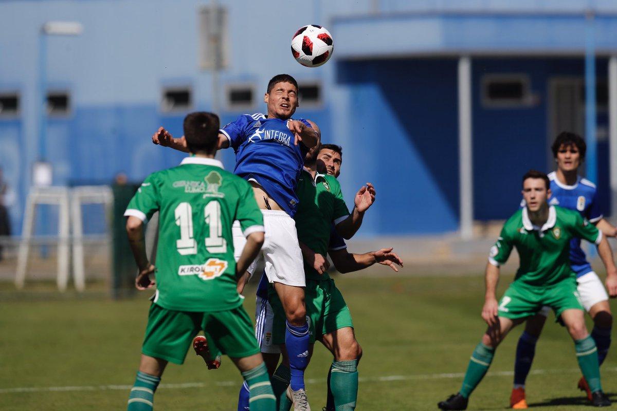 Una jugada del Vetusta-Gernika en El Requexón (Foto: Real Oviedo).