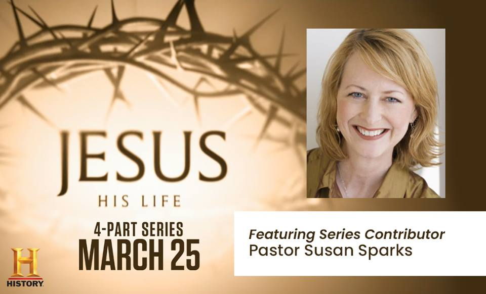 Jesus: His Life is a 4-week event featuring @revsusansparks The series will explore the life of Jesus Christ, premiering tomorrow at 8/7c on @HISTORY. history.com/shows/jesus-hi…
