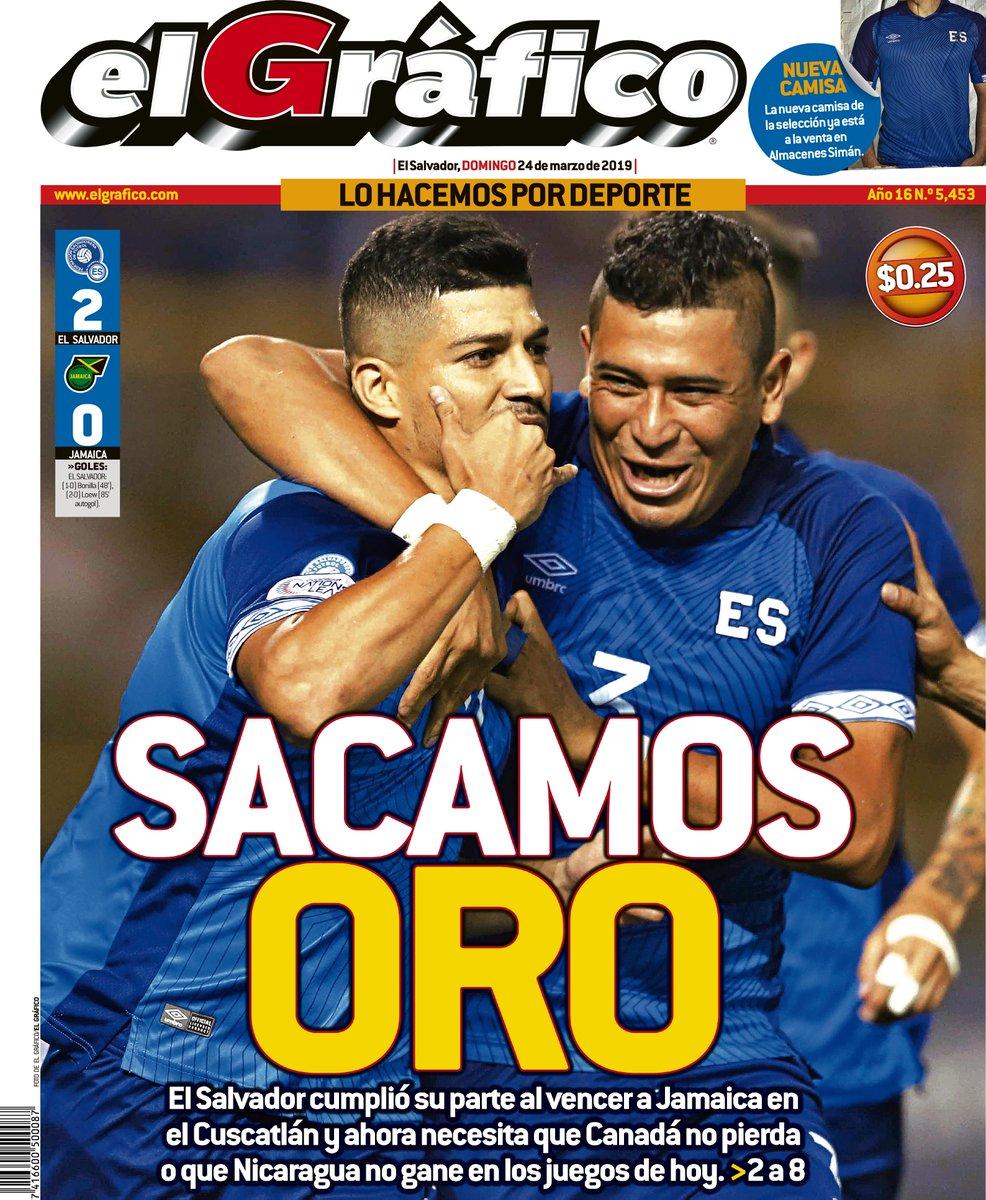 Liga de Naciones CONCACAF 2018-19: El Salvador 2 Jamaica 0. D2bQPvgWwAAG2bN