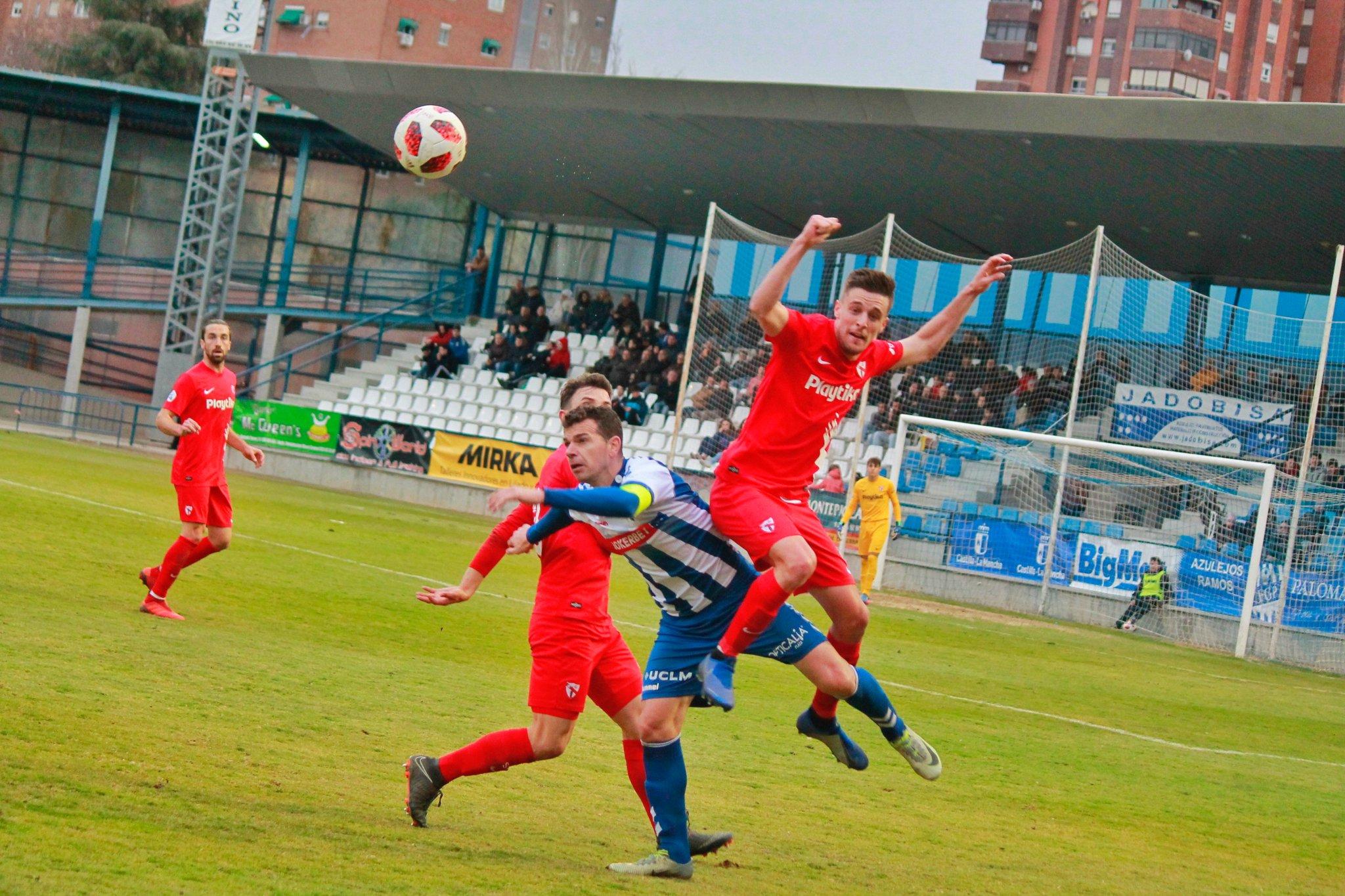 Jumilla 1-2 Sevilla Atlético.
