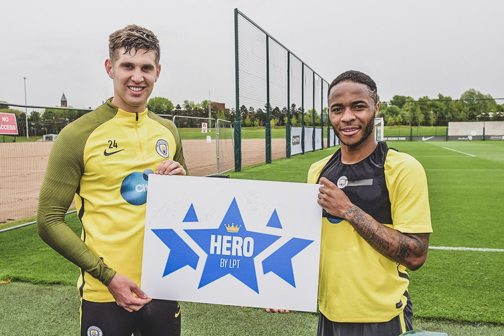 💰 Donated money to Grenfell Tower disaster.  🇯🇲 Paid for schools to be built in Jamaica.  👏 Ambassador for hair loss charity.  🏥 Visited a cancer fighter on his day off & dedicated a goal him.  👕 Donated match shirts to @FBeyondBorders charity.  💙 The real Raheem @Sterling7.