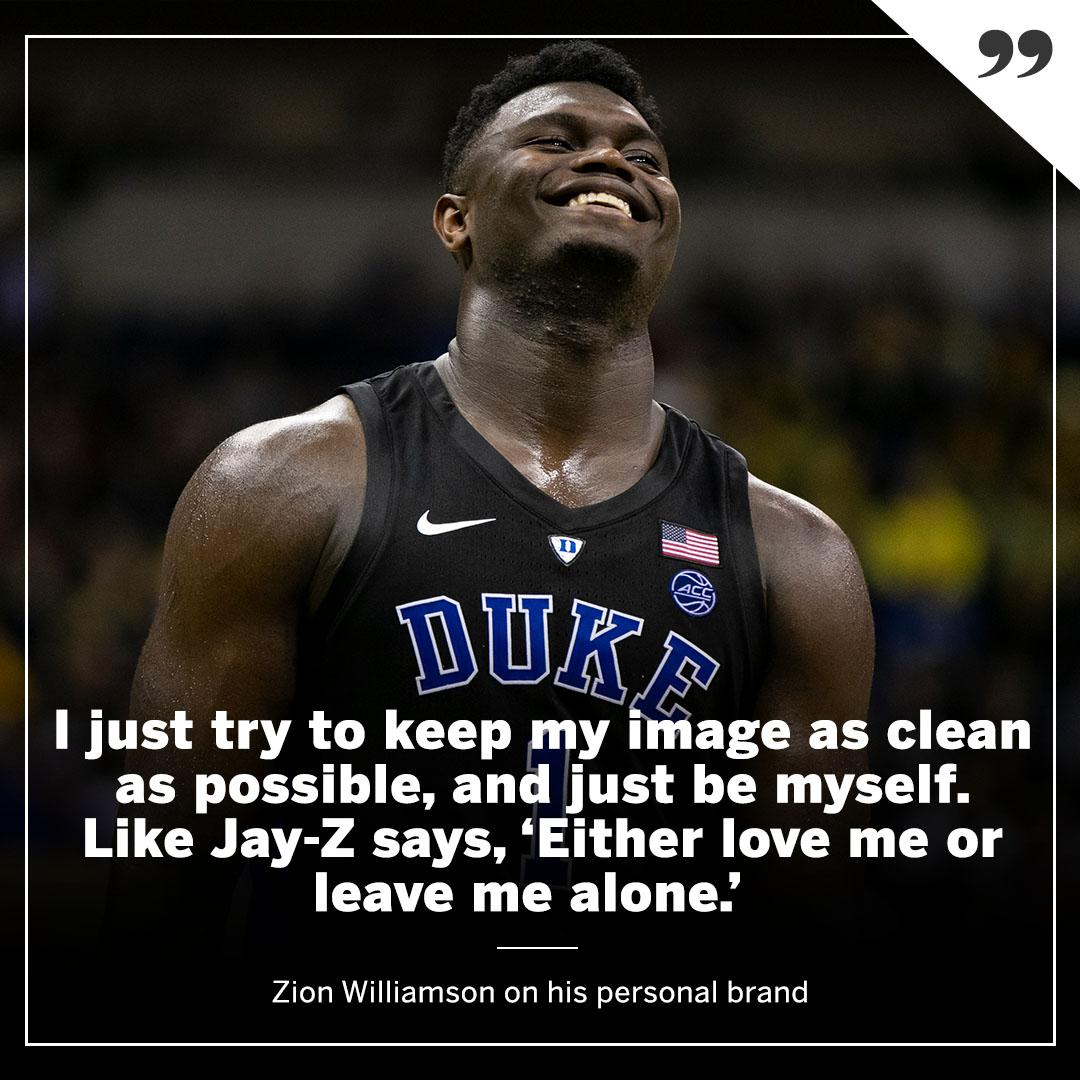 Zion is a business, man! �� https://t.co/8gOzHuZ6TI