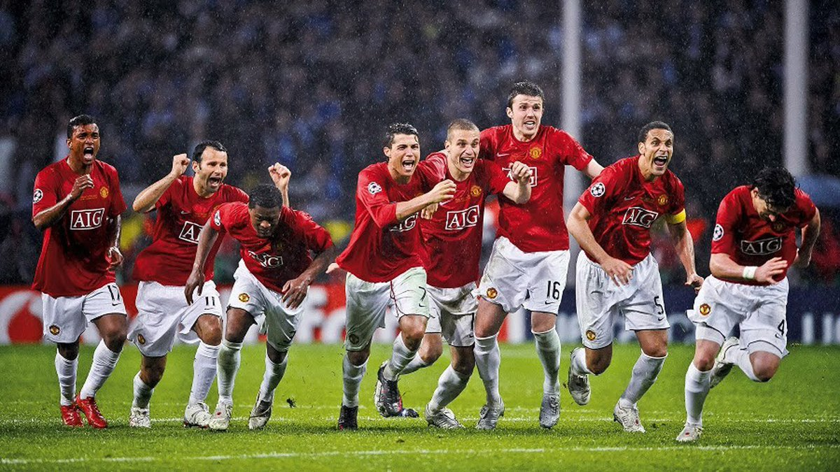 I wish we had players like this again all world class, the talent in the 2008 team was the greatest I've ever seen. #mufc