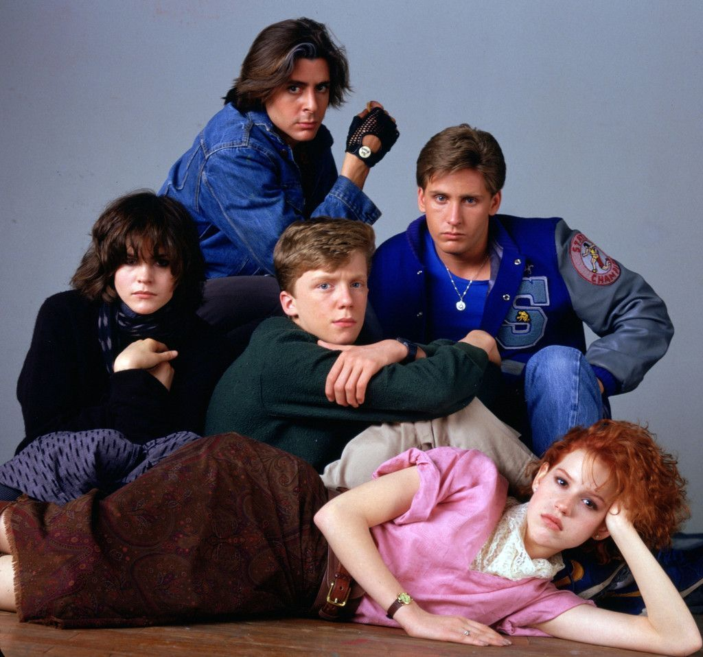 On this day in history (March 24th, 1984) John Bender, Claire Standish, Andy Clark, Brian Johnson and Allison Reynolds all had detention together.  #BreakfastClub