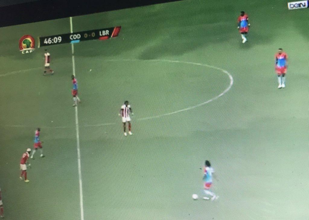 Les dimanches son pour le football #RDC v Liberia. Allez les Léopards !