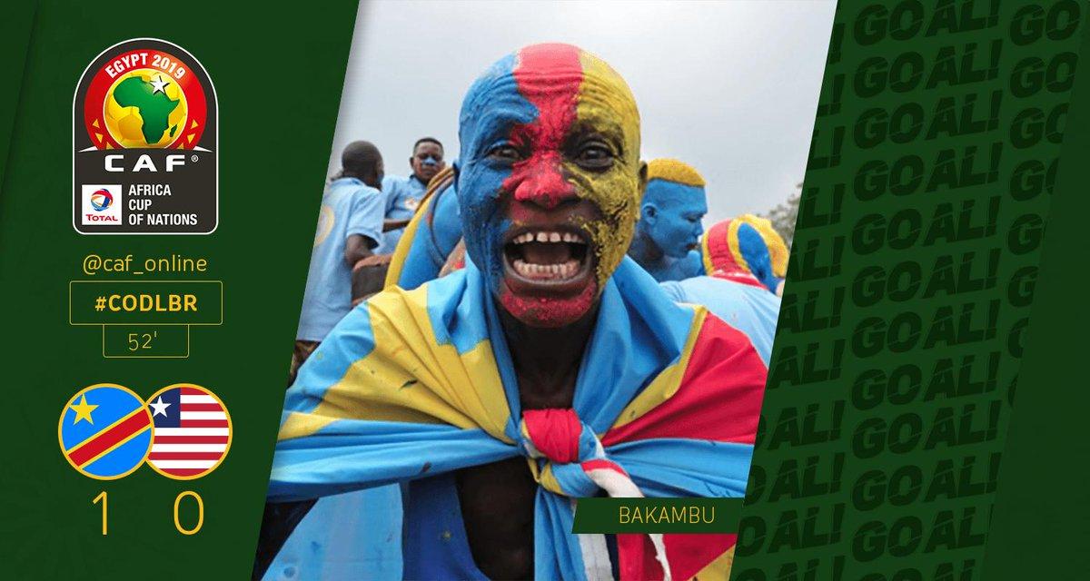 BUUUUUUT | Cédric Bakambu (RD Congo) vient de marquer un but! RD Congo - Liberia 1-0  #AFCON2019Q #CODLBR https://t.co/ytbojM51DU