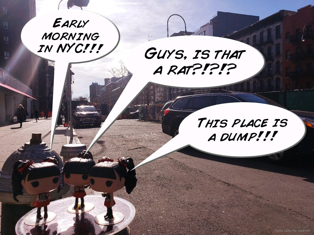 Today, the Pops will be wandering around #NYC- we will share our sites and travels along the way. We hope you enjoy! #BABYMETAL #WonderfulJourney #NewYorkCity #FunkoPops