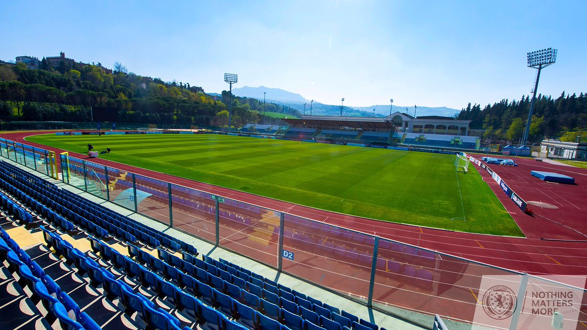 "Scotland National Team on Twitter: ""The San Marino Stadium in ..."