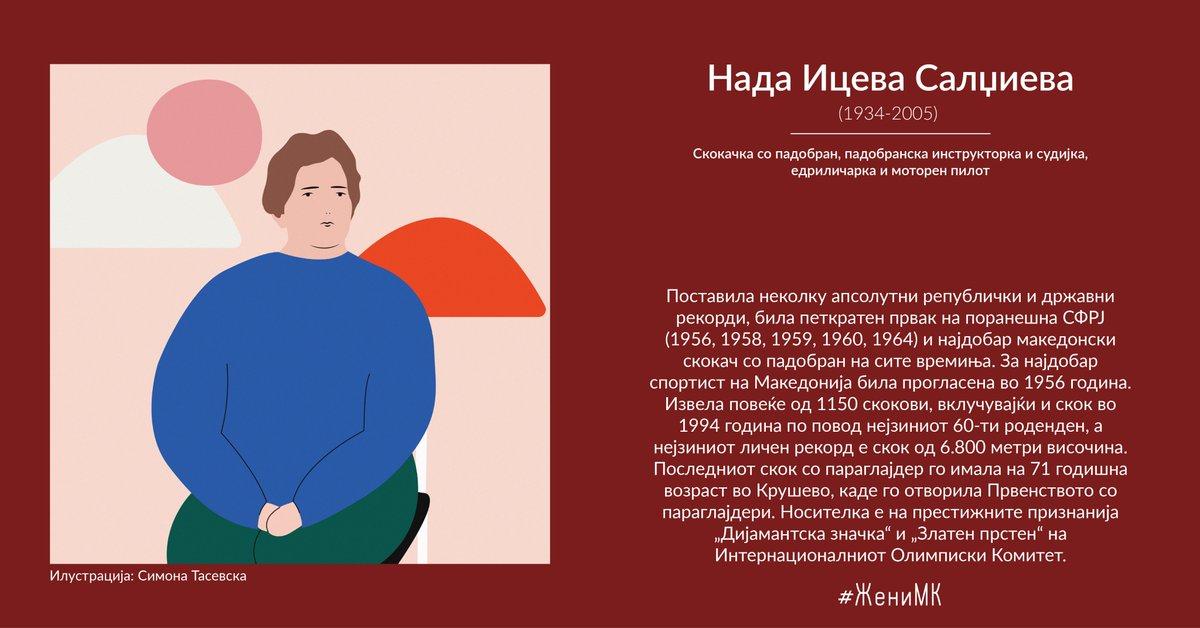 Нада Ицева Салџиева - скокачка со падобран #ЖениМК • #GratëMK • #WomenMK