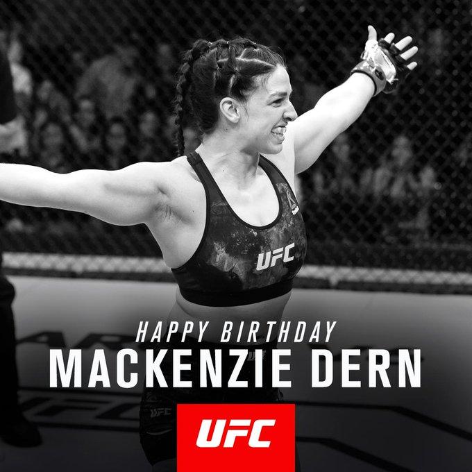 Happy Birthday @MackenzieDern �