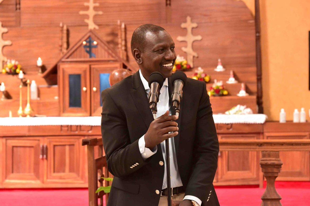 D2buj8cXcAIWkEW - Kiambu Church blocks DP Ruto's tormentors from addressing delegation, received millions from hustler