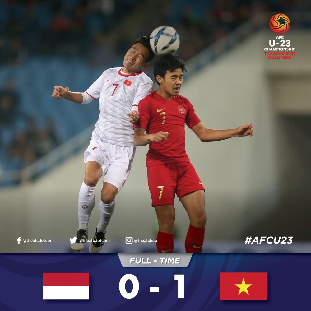 Timnas U-23 Indonesia tersingkir di babak penyisihan Kualifikasi Piala Asia U-23 2020, setelah kalah 0-1 dari Vietnam, Minggu (24/3/2019).